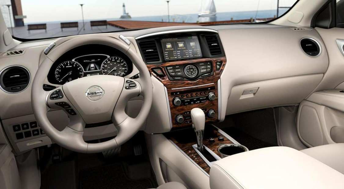89 A 2020 Nissan Pathfinder Hybrid Wallpaper