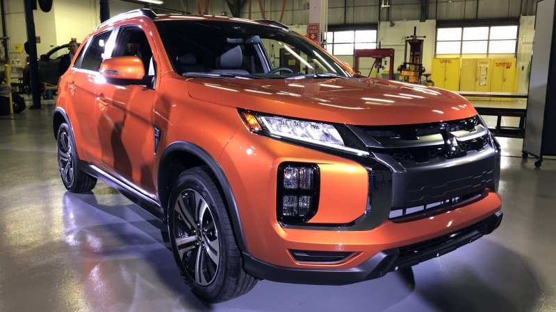 89 A New Mitsubishi Asx 2020 Redesign And Concept
