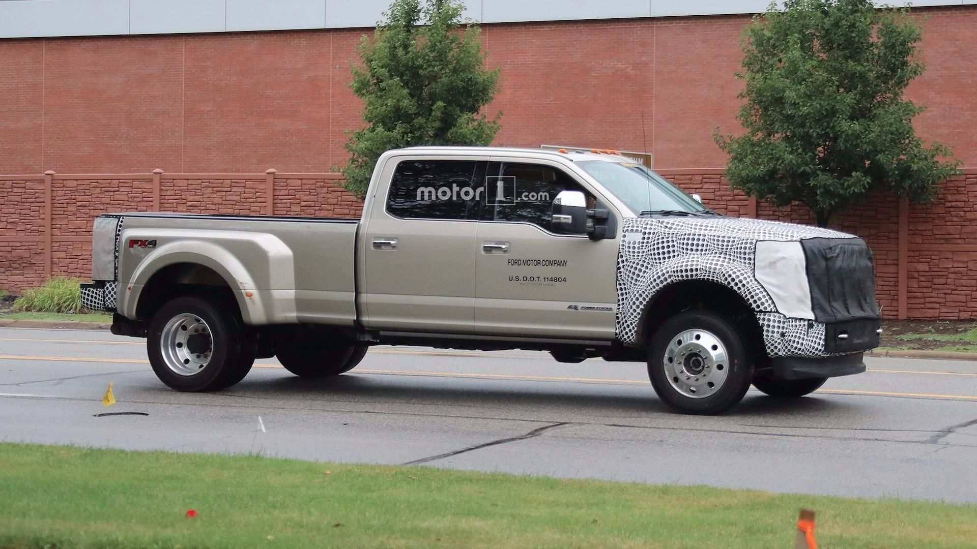 89 A Spy Shots Ford F350 Diesel New Review