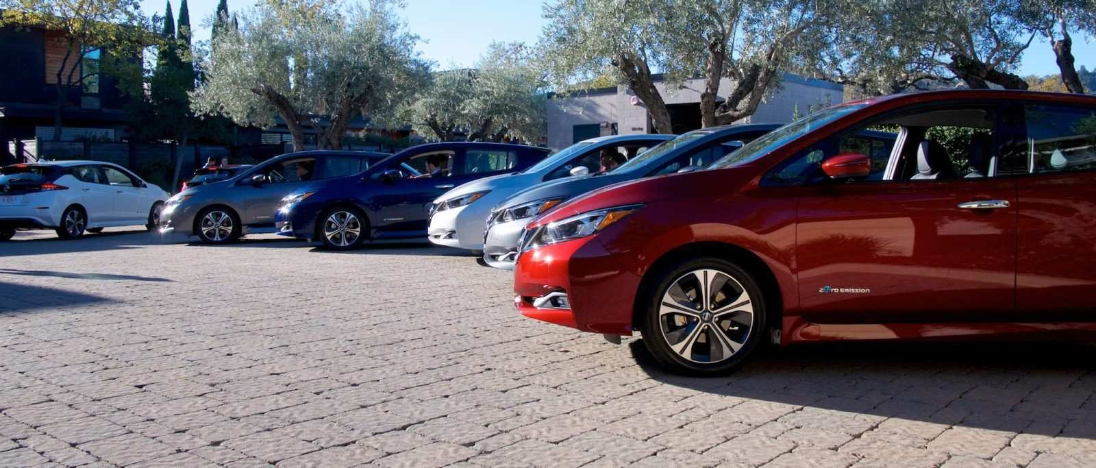 89 All New 2019 Nissan Leaf Range Picture