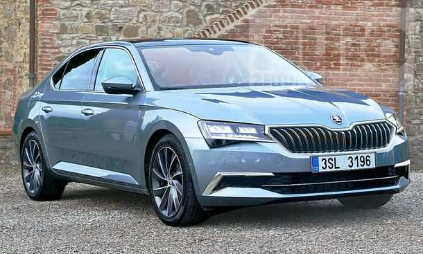 89 All New 2019 The Spy Shots Skoda Superb Price