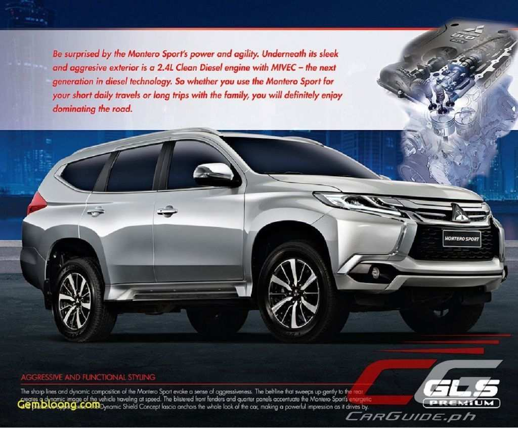 89 All New 2020 Mitsubishi Montero Sport Exterior And Interior