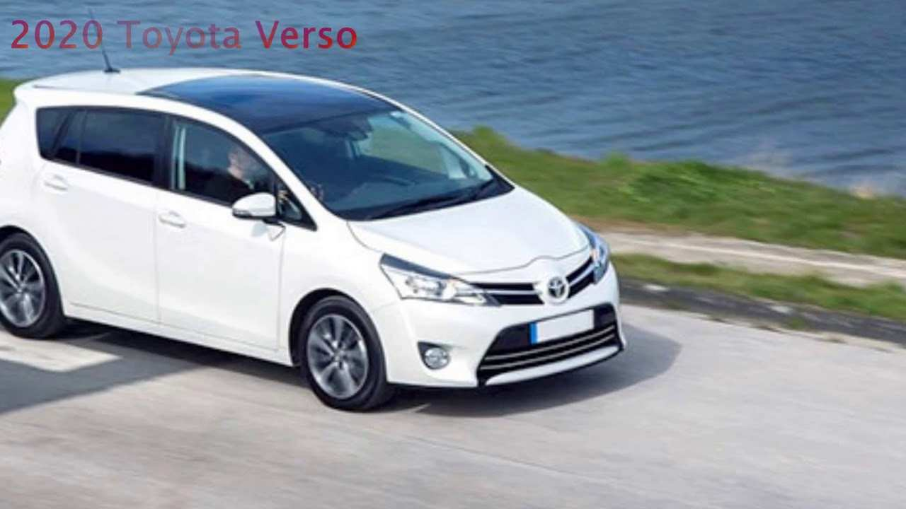 89 All New 2020 Toyota Verso Exterior