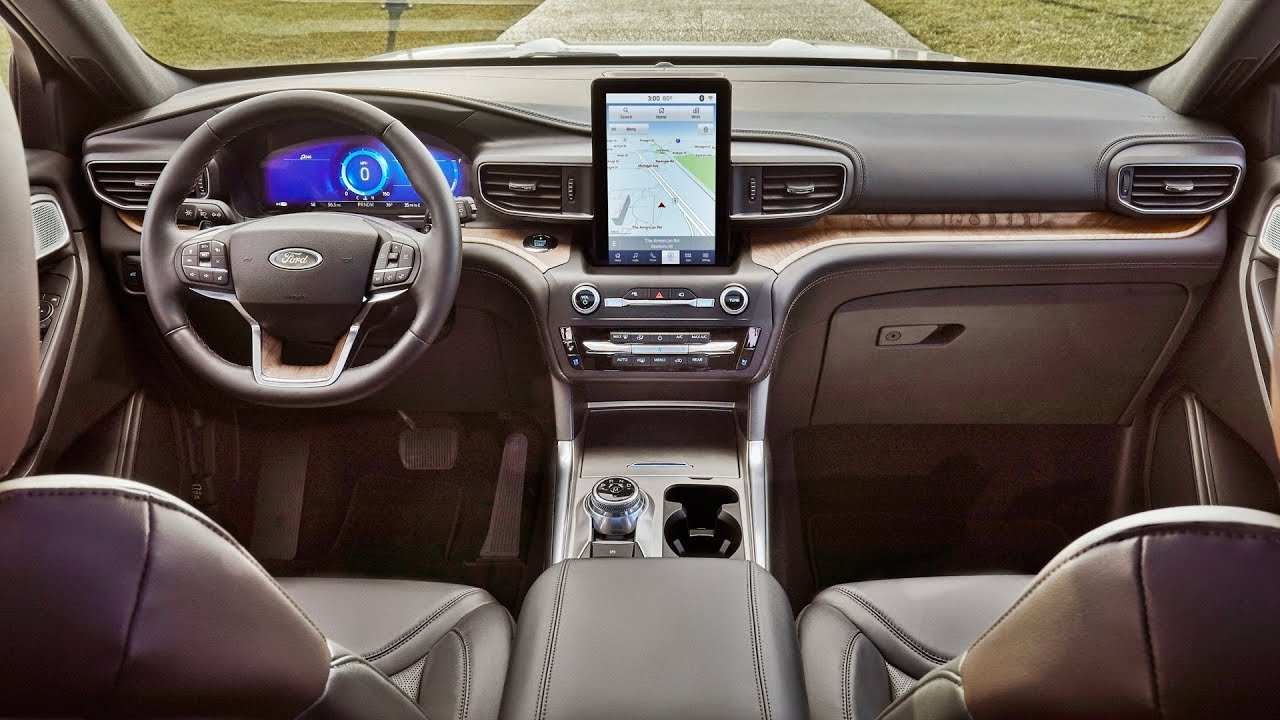 89 All New Ford Explorer 2020 Interior Spesification