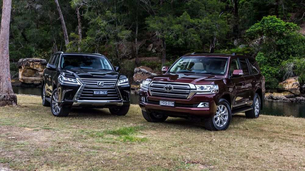 89 All New Toyota Land Cruiser V8 2019 First Drive