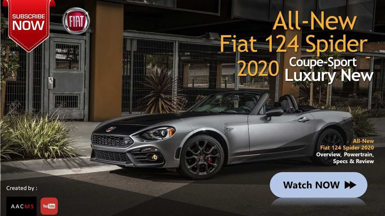 89 Best 2020 Fiat Spider Concept And Review