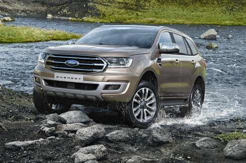 89 New 2019 Ford Everest Configurations