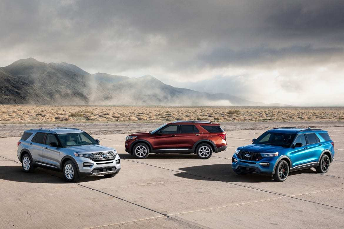 89 New 2020 Ford Explorer Sports Speed Test