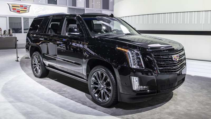 89 The 2019 Cadillac Escalade Speed Test