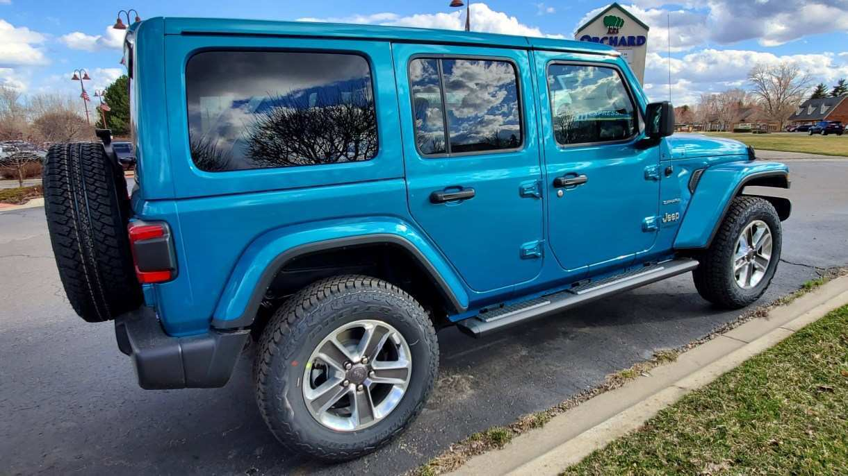 89 The 2019 Jeep Jl Colors History