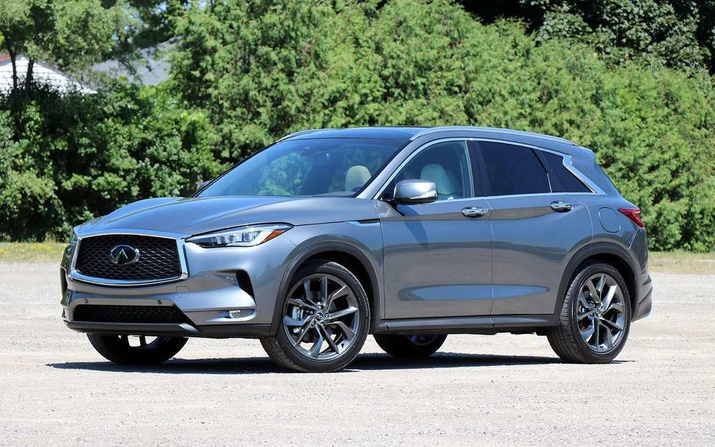 89 The Best 2019 Infiniti QX50 Spy Shoot