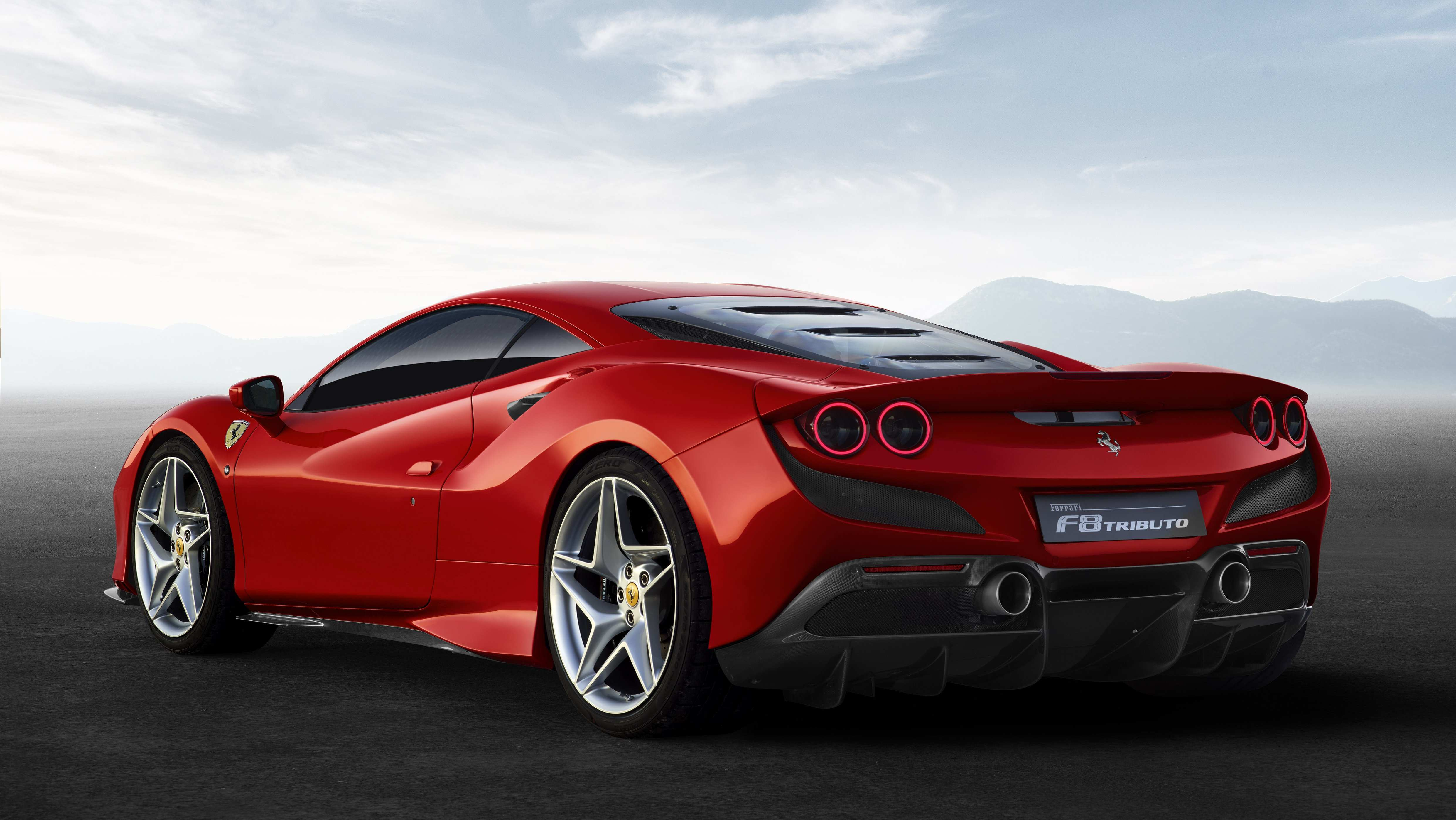 89 The Ferrari 2020 F8 Tributo Images