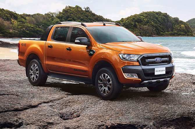 89 The Ford Ranger Wildtrak 2020 History