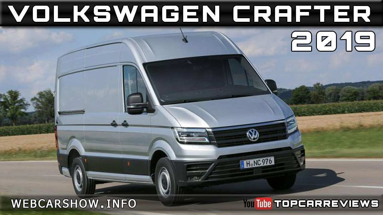 89 The Volkswagen Crafter 2019 First Drive