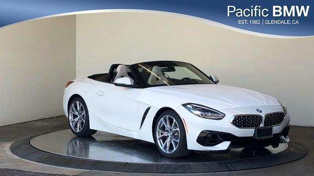 90 A 2019 BMW Z4 Roadster Interior
