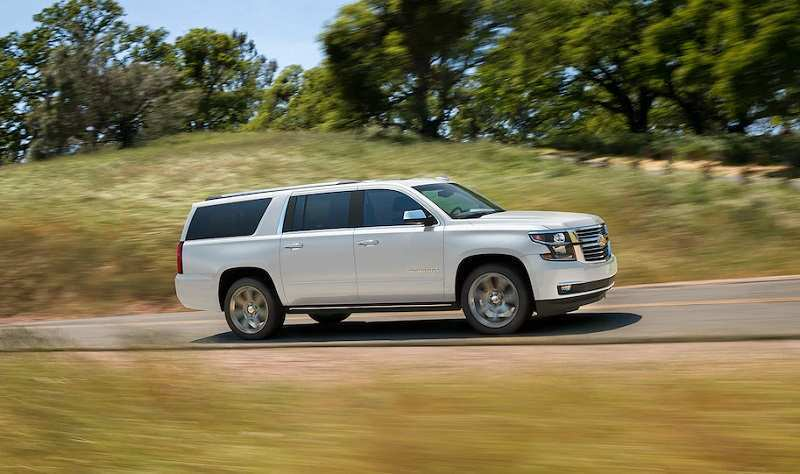 90 A 2019 Chevy Suburban Ratings
