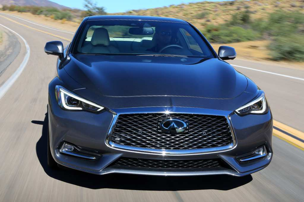 90 A 2019 Infiniti Q60 Coupe Interior