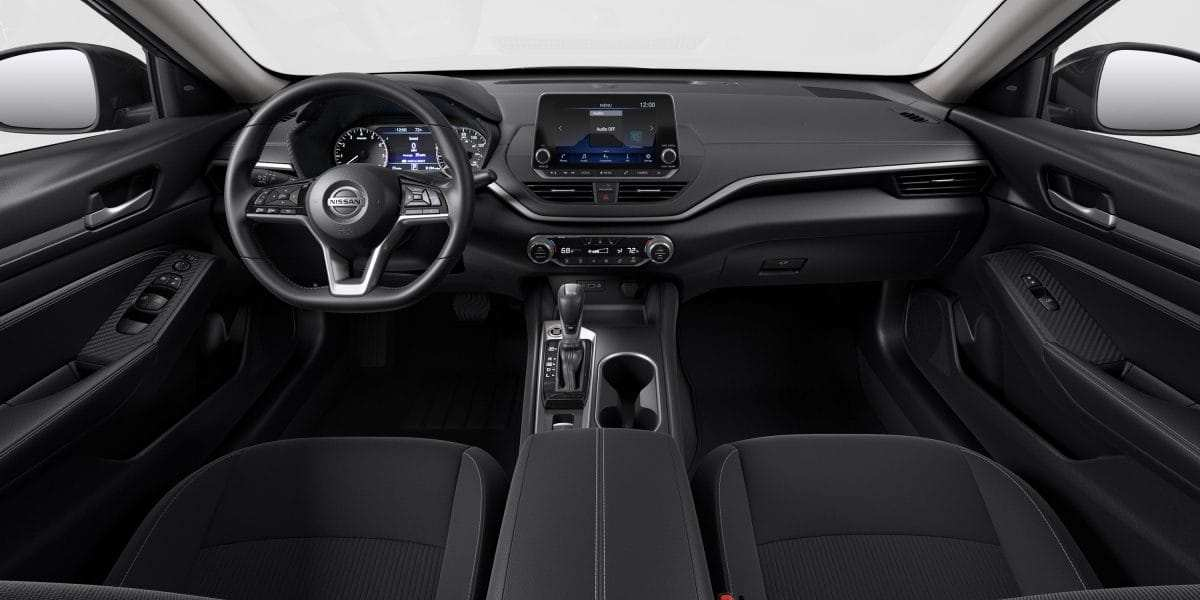 90 A 2020 Nissan Altima Interior Exterior and Interior