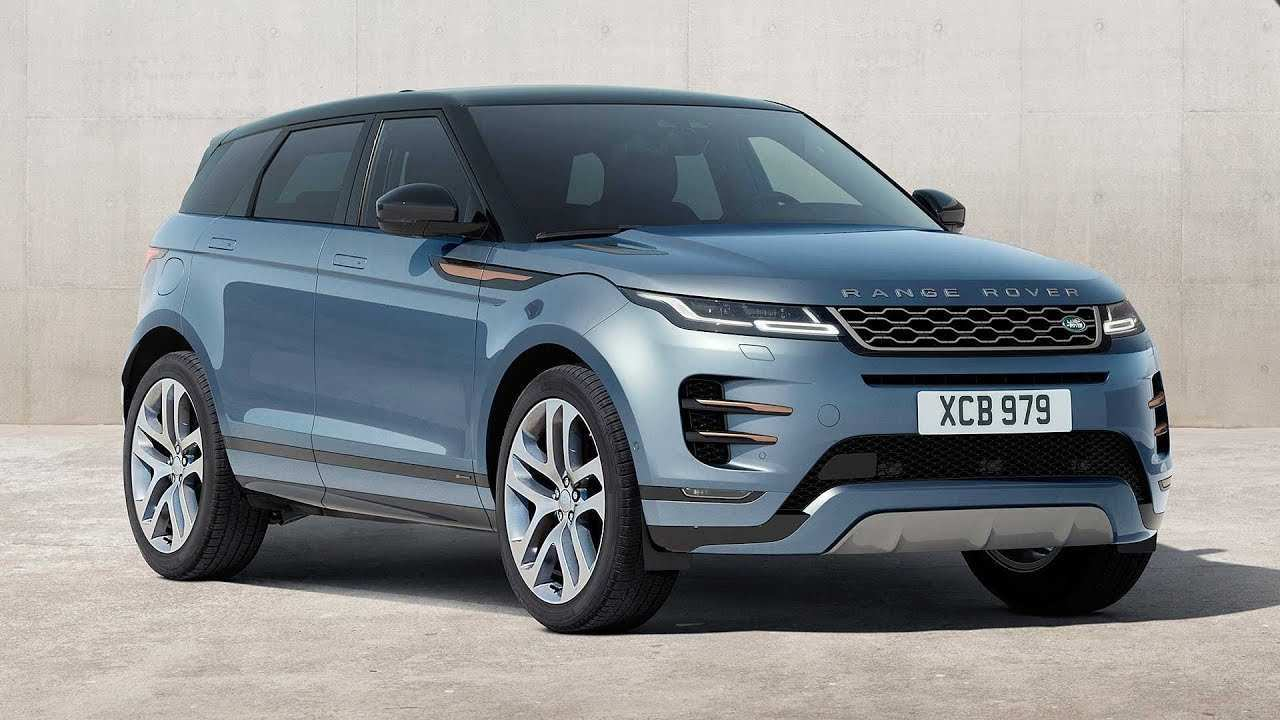 90 A 2020 Range Rover Evoque Ratings