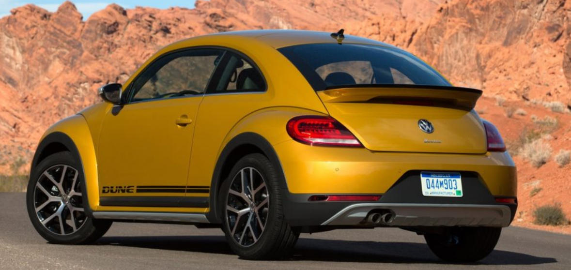 90 A 2020 Volkswagen Beetle Dune Spy Shoot