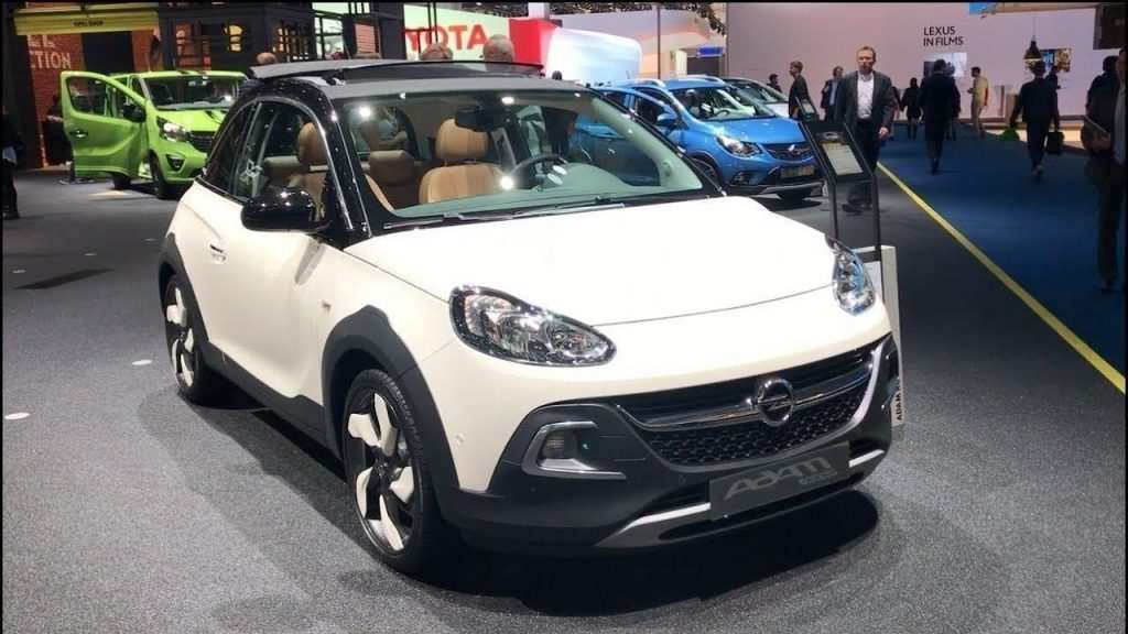 90 All New 2019 Opel Adam Rocks New Model And Performance