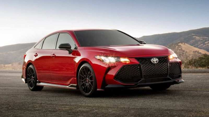 90 All New 2019 Toyota Avalon Engine