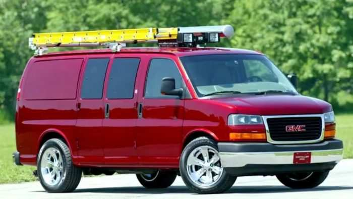 90 All New 2020 GMC Savana New Review