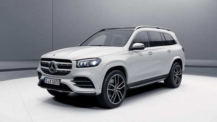 90 All New 2020 Mercedes Gl Class Wallpaper