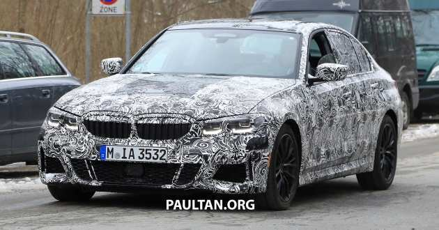 90 All New Spy Shots BMW 3 Series Pricing