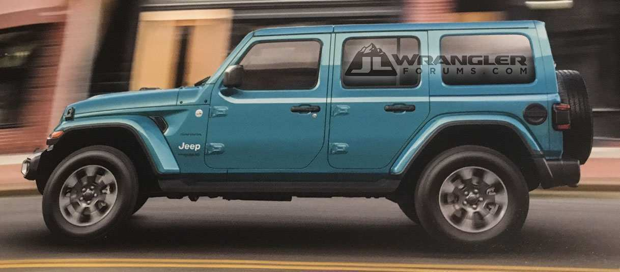 90 Best 2019 Jeep Jl Colors Redesign And Concept