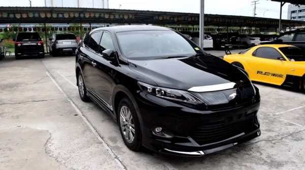 90 New Toyota Harrier 2020 Rumors