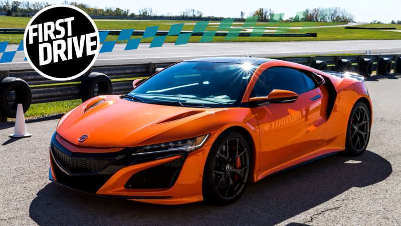 90 The 2019 Acura NSXs Spy Shoot