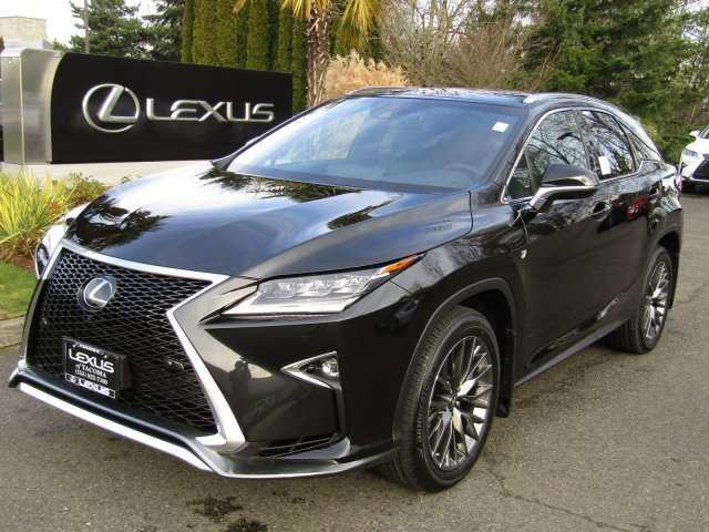 90 The 2019 Lexus Rx 350 F Sport Suv Redesign And Concept