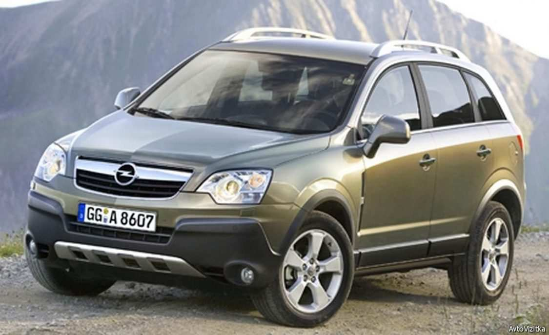 90 The 2019 Opel Antara Wallpaper