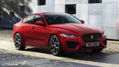 90 The 2020 All Jaguar Xe Sedan Performance