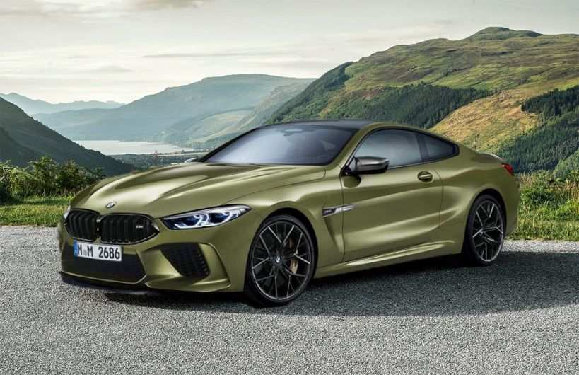 90 The 2020 BMW M8 Speed Test