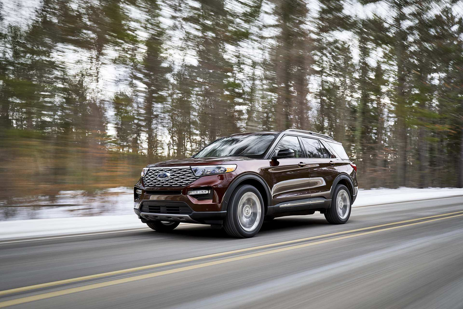 90 The 2020 Ford Explorer Images
