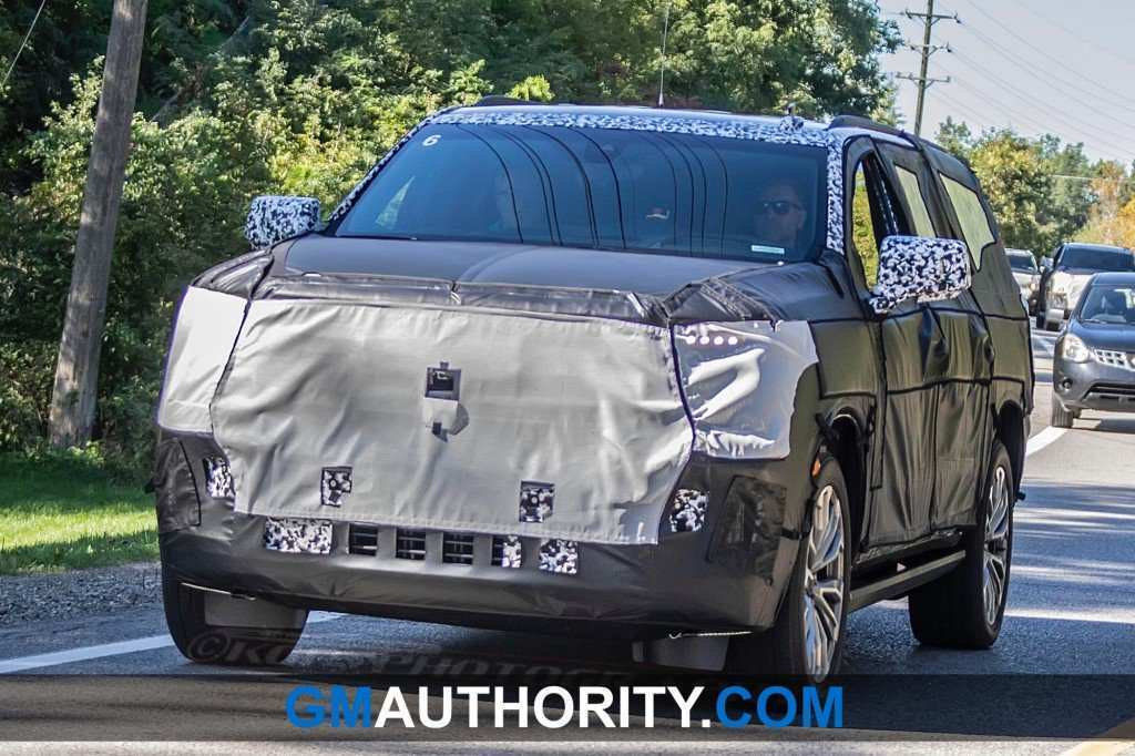 90 The 2020 GMC Yukon Spy Photos Configurations