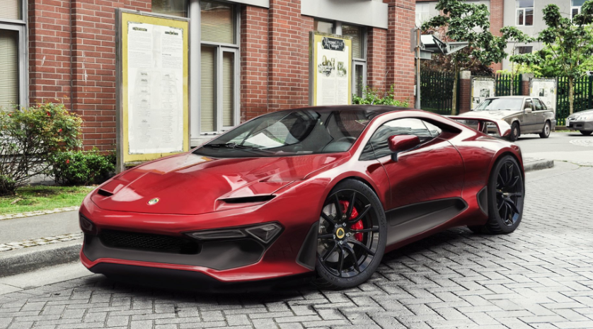 90 The 2020 Lotus Evora Model