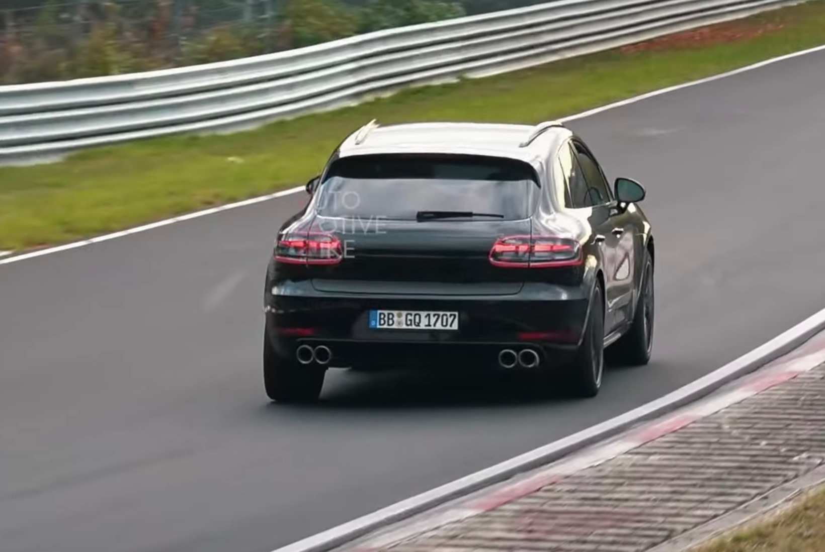 90 The 2020 Porsche Macan Turbo Speed Test