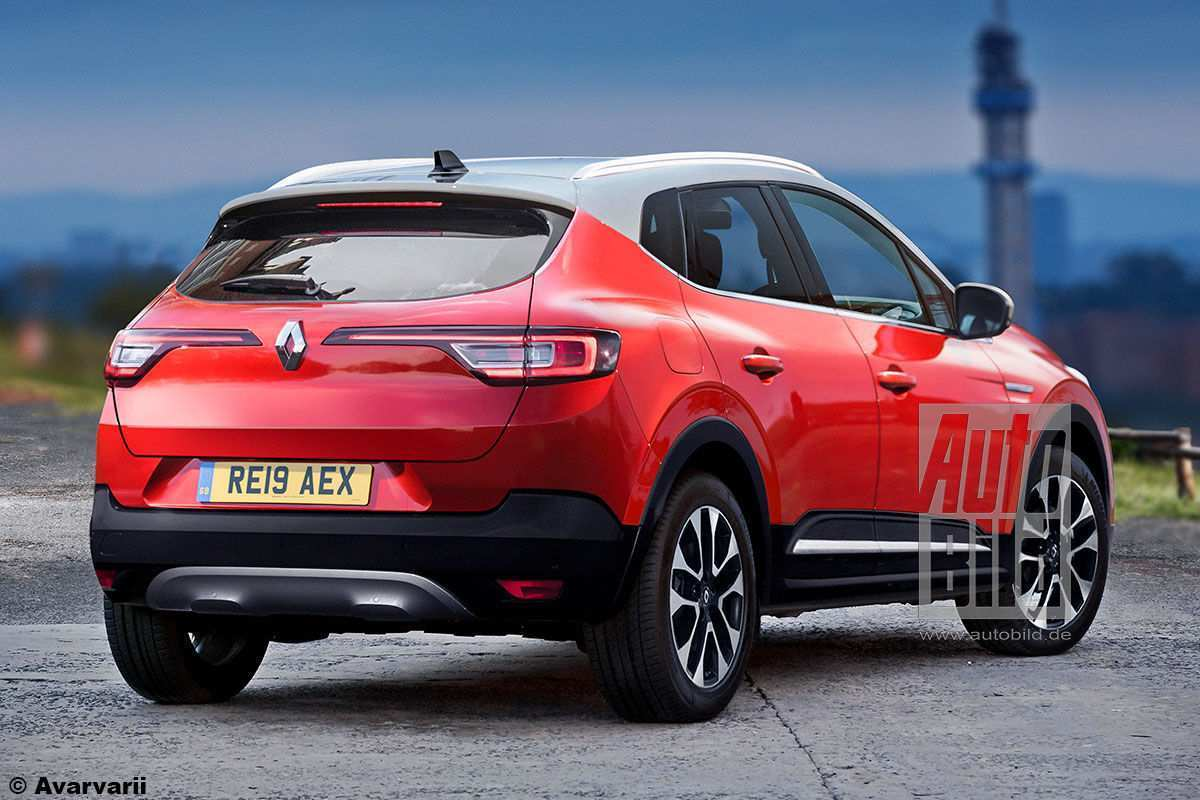 90 The 2020 Renault Megane SUV Pictures