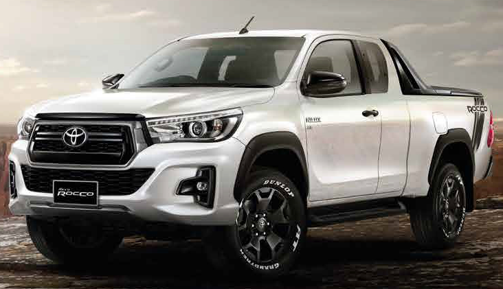 90 The 2020 Toyota Hilux Engine