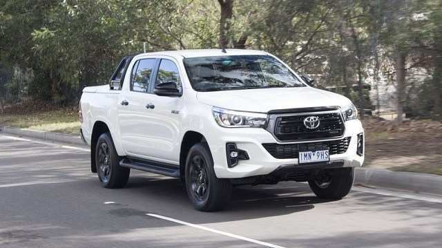 90 The 2020 Toyota Hilux Images