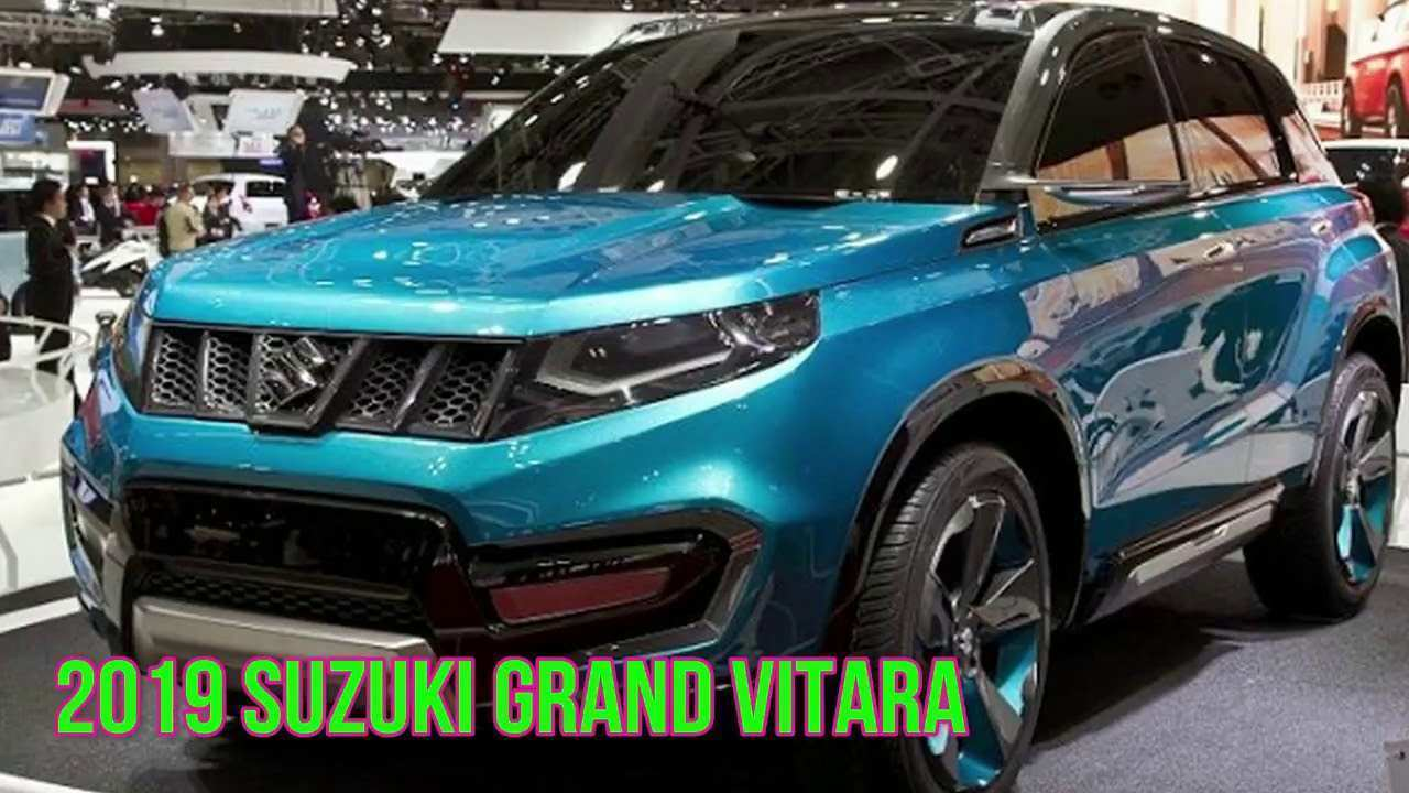 90 The Best 2019 Suzuki Grand Vitara Release Date And Concept