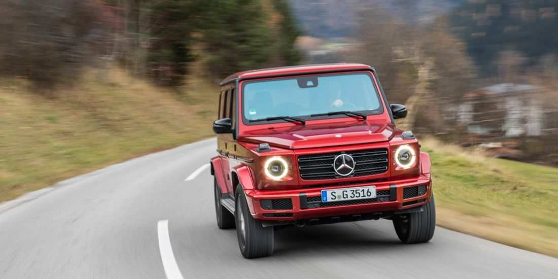 90 The Best Mercedes G 2019 Concept And Review