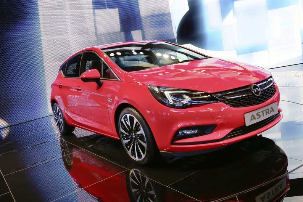 90 The Opel Astra Hatchback 2020 First Drive