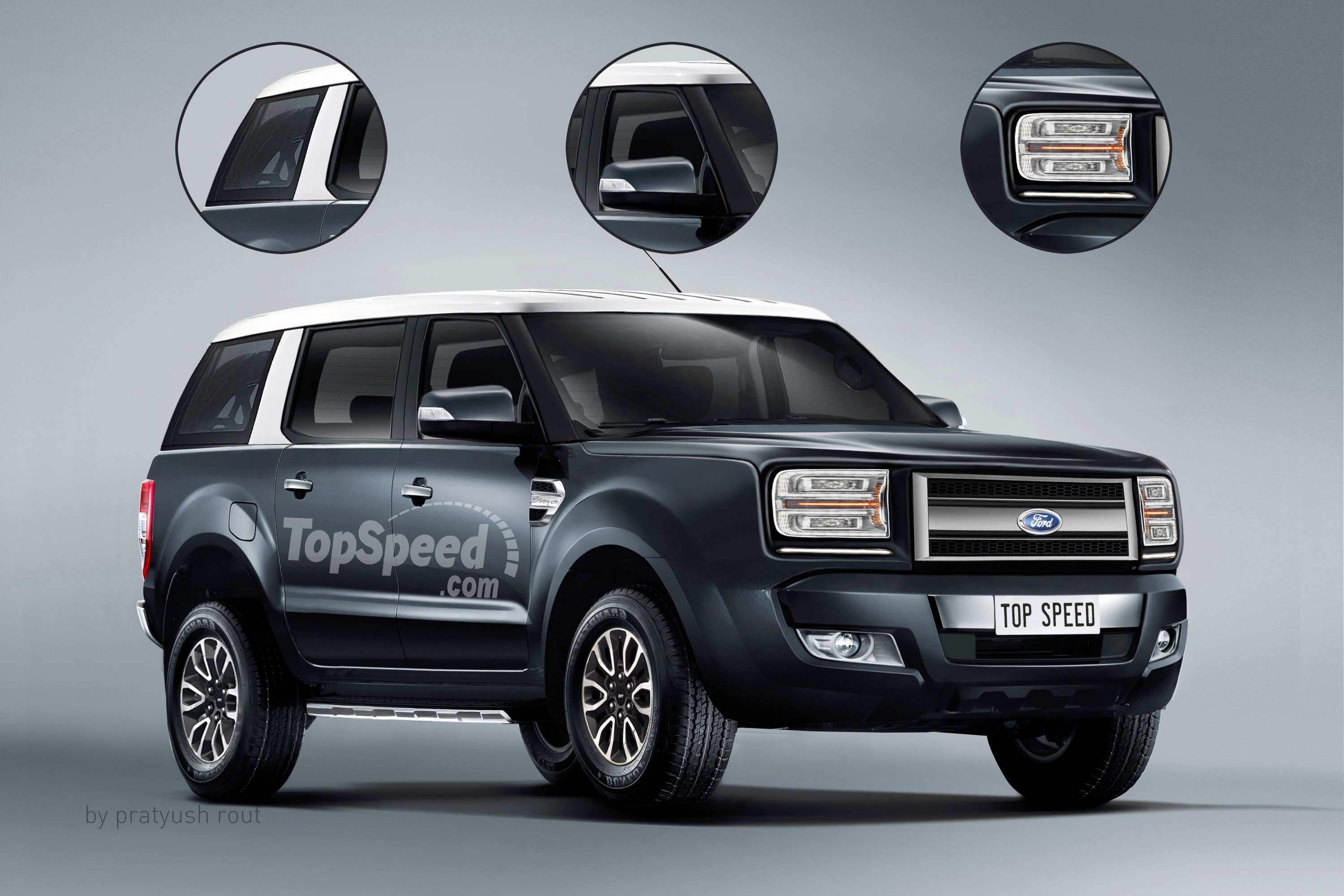 91 A 2019 Ford Troller T4 Concept