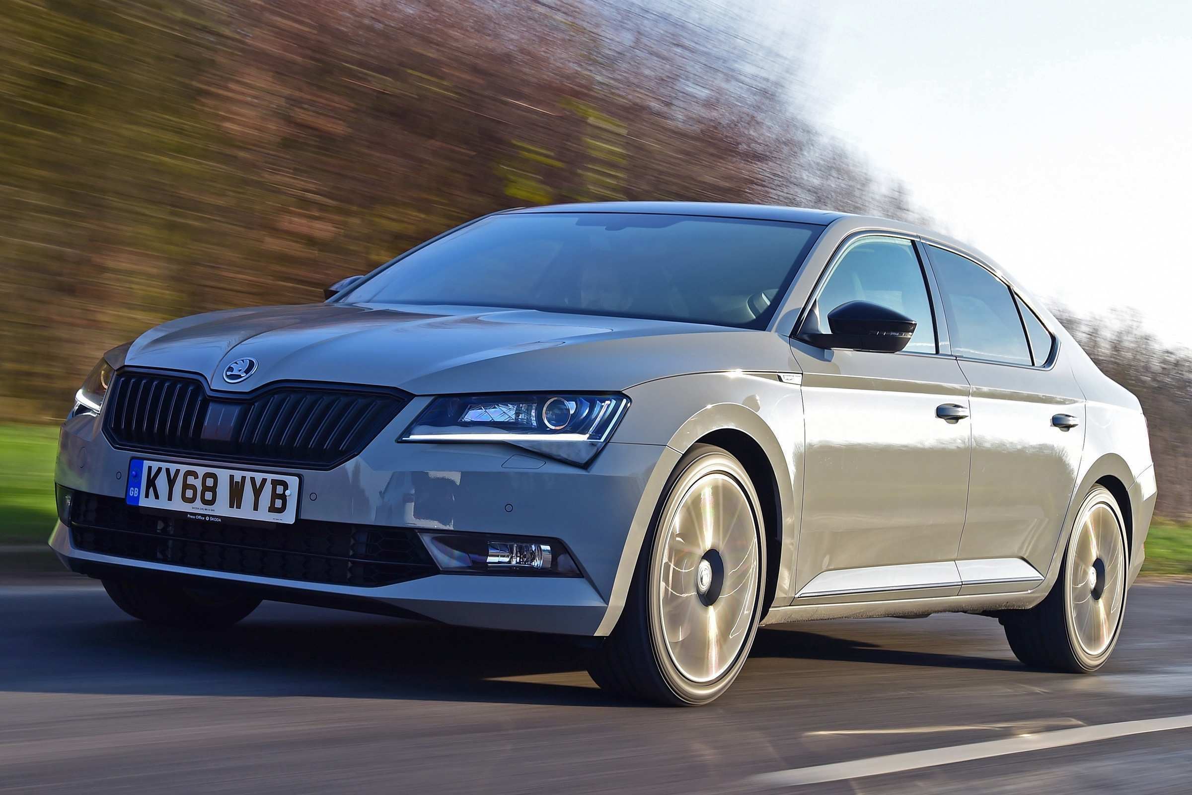 91 A 2019 Skoda Superb New Review