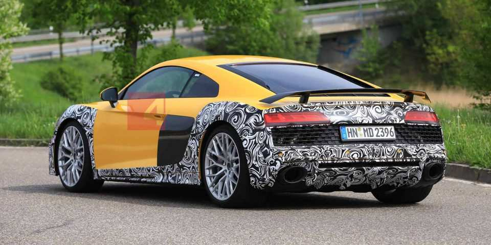91 A 2020 Audi R8 Spy Shoot