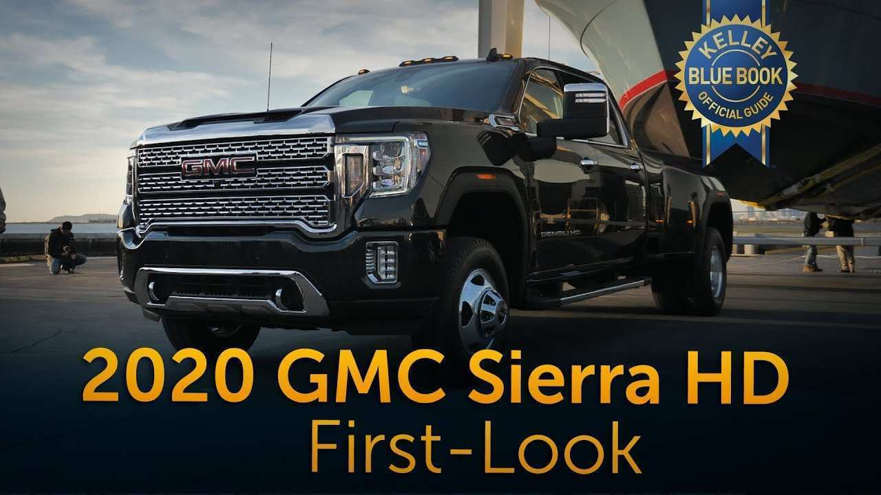 91 A 2020 GMC 3500 Denali Price Interior